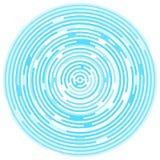Bakgrund som göras av cirklar Segerbakgrund Modern digital bakgrund som göras av cirklar Royaltyfri Fotografi