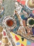Bakgrund som göras av härliga smycken Royaltyfria Bilder