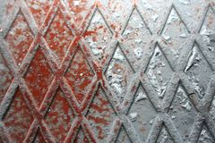 Bakgrund som komponeras av stål royaltyfri bild