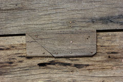 bakgrund spikar trä Royaltyfri Bild