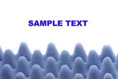 bakgrund sponges white Royaltyfria Foton