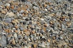 bakgrund stenar textur Arkivfoton