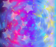 Bakgrund - stjärnor Royaltyfri Bild