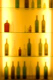 bakgrund suddighet flaska Royaltyfri Bild