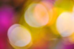 bakgrund suddighetdde bokeh Royaltyfri Foto