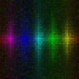 bakgrund tänder multicolor vektor illustrationer
