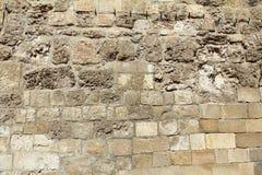 Bakgrund/textur för stenvägg Royaltyfri Bild