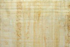 Bakgrund textur: yttersida av den naturliga egyptiska papyruset Royaltyfri Foto
