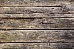 Gammala träplankor Arkivbild