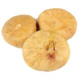bakgrund torkade figs isolerade white Arkivbilder