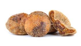 bakgrund torkade figs isolerade white Arkivfoto