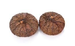bakgrund torkade figs isolerade white Arkivfoton