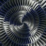Bakgrund Tu för turbin för industriell produktion för spiral för bakgrund för modell för fractal för abstrakt begrepp för effekt  fotografering för bildbyråer