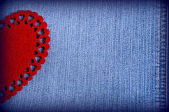 Bakgrunden för valentin dag Arkivbilder