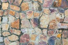 Bakgrunder av stenväggen Arkivbilder