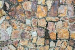 Bakgrunder av stenväggen Fotografering för Bildbyråer