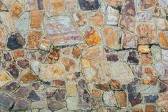 Bakgrunder av stenväggen Arkivbild