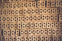 Bakgrunder för tegelstenvägg Arkivfoton