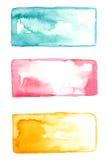 Bakgrunder för vattenfärg 3 Royaltyfria Bilder