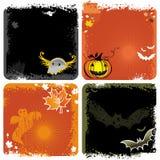 bakgrunder halloween Fotografering för Bildbyråer