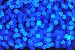 Bakgrunder med blåa ljus Royaltyfri Fotografi