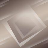 Bakgrundsabstrakt begrepp med fyrkanter och linjer Fotografering för Bildbyråer