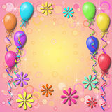 bakgrundsballong Royaltyfri Foto