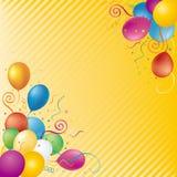 bakgrundsballonger Arkivfoto