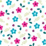 bakgrundsbanret blommar datalistor little rosa spiral Målarfärgblommamodell stock illustrationer