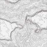 Bakgrundsbegrepp för Topographic översikt med utrymme för din kopia Bakgrund för Topo-konturöversikt, vektorillustration royaltyfri illustrationer
