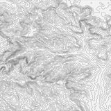 Bakgrundsbegrepp för Topographic översikt med utrymme för din kopia Bakgrund för Topo-konturöversikt, vektorillustration vektor illustrationer