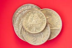 bakgrundsbegreppet bantar guld- äggfinans Royaltyfri Fotografi