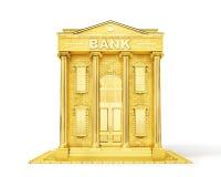 bakgrundsbegreppet bantar guld- äggfinans Guld- bank som isoleras på en vit vektor illustrationer