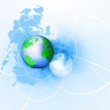 bakgrundsbegreppsinternet stock illustrationer