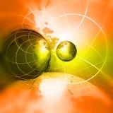 bakgrundsbegreppsinternet vektor illustrationer