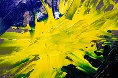 Bakgrundsbild av den ljusa olja-målarfärg palettcloseupen Fotografering för Bildbyråer