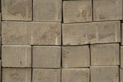 Bakgrundsbild av en cementtegelsten Arkivbild