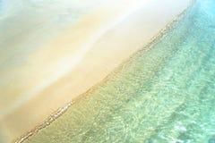 Bakgrundsbild av sandstranden fotografering för bildbyråer