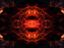 Bakgrundsbild av symmetriska modeller Royaltyfri Bild