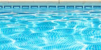 Bakgrundsbild av vatten med kopieringsutrymme Royaltyfri Foto
