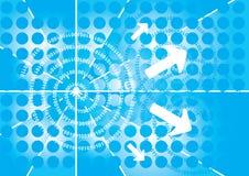 bakgrundsbinary vektor illustrationer
