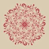 bakgrundsblomman blommar tappning royaltyfri illustrationer