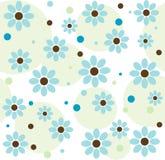 bakgrundsblueblommor Arkivfoton