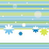 bakgrundsblueblommor Fotografering för Bildbyråer
