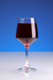 bakgrundsblueexponeringsglas Arkivbild