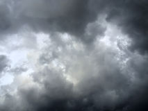 bakgrundsbluen clouds cloudscapeskyen Royaltyfri Fotografi