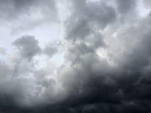 bakgrundsbluen clouds cloudscapeskyen Royaltyfria Bilder