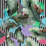 bakgrundsbluen låter vara oakskyen Seamless bakgrund mönstrar Textur för tygtapettryck vektor illustrationer