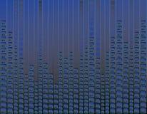 bakgrundsblueneon Arkivbild
