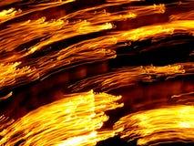 bakgrundsbluryellow Fotografering för Bildbyråer